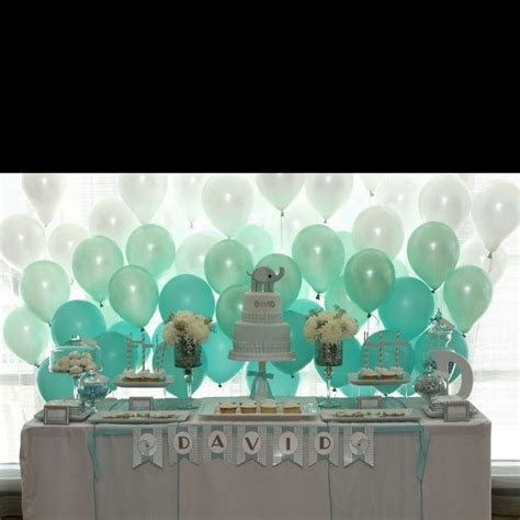 Ombre balloon backdrop   Parties & Entertaining   Dessert
