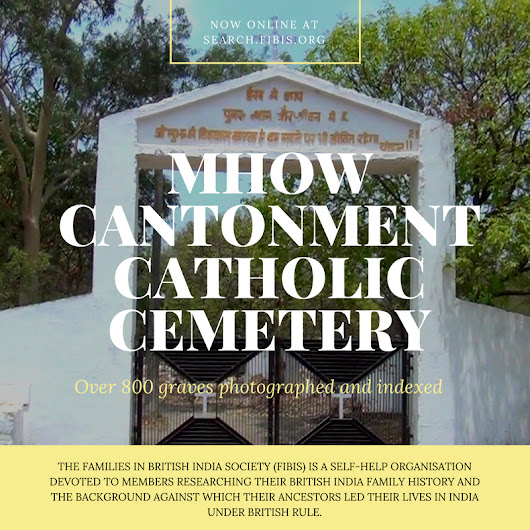 Cemetery Project Update - Mhow Cantonment Catholic Cemetery - FIBIS