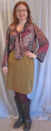 Paisley and Mustard, Front