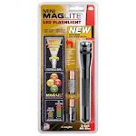 Mag Instrument 153-070 Mini Maglite 2-cell Aa Led Flashlight, Black (153070)