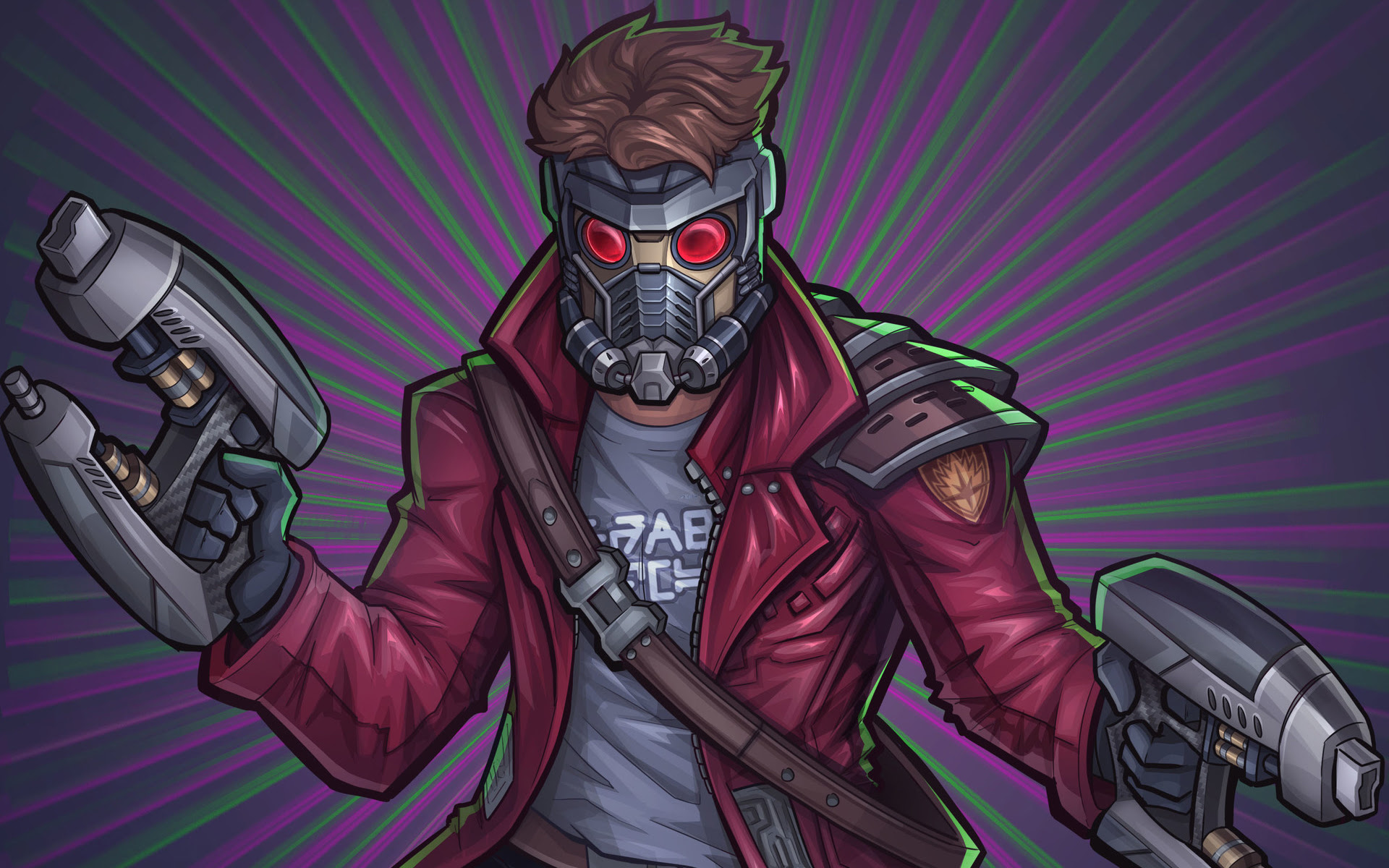 Star Lord Artwork Guardians Of The Galaxy Wallpapers Hd Wallpapers