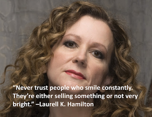 Quote Of The Day – Laurell K. Hamilton