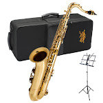 Jean Paul Tenor Sax Bundle with Case and Stand - TS-700CM