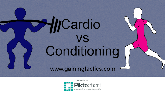 Cardio vs Conditioning - Setting The Record Straight - Gaining Tactics