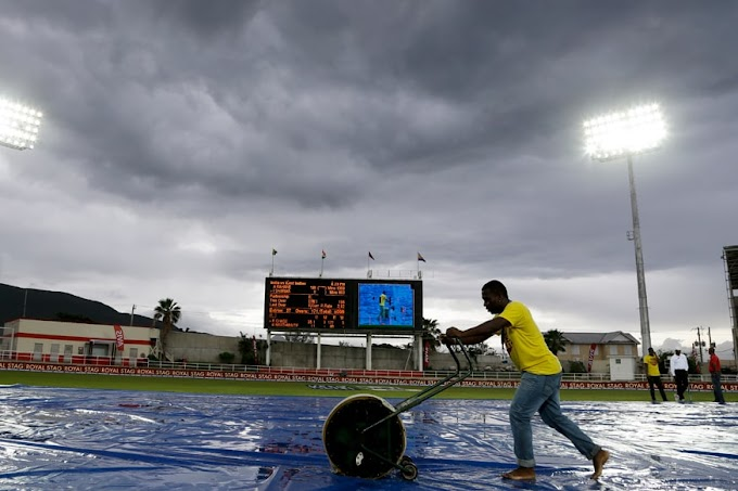 Jamaica Weather Today: Rain Threat Looms Over Sabina Park