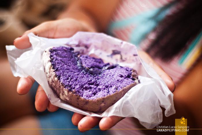 Ube Brazo de Mercedes of La Paz Bakery