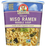 Dr. McDougall's Vegan Miso Ramen Soup Big Cup with Noodles - 1.9 Ounce - PACK OF 12