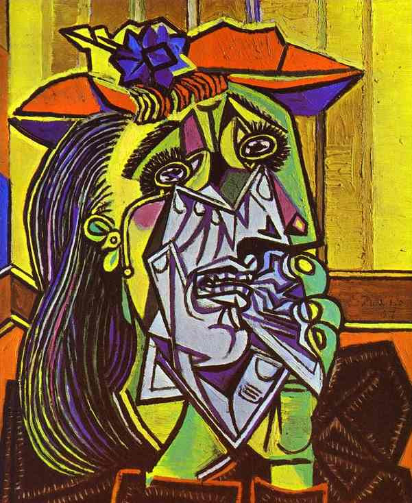 Weeping Woman Pablo Picasso Paintings