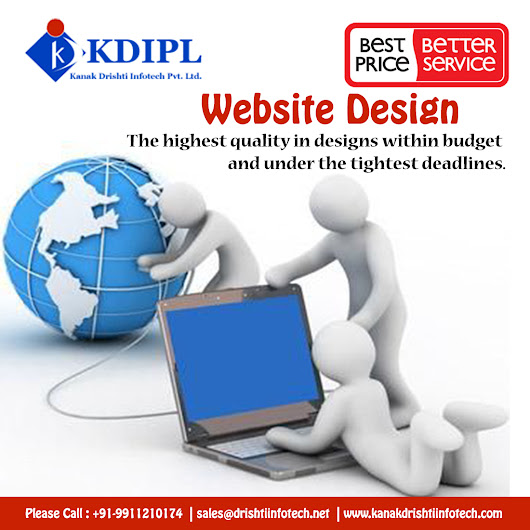 Web Designing and Development Services | Drishti InfoTech
