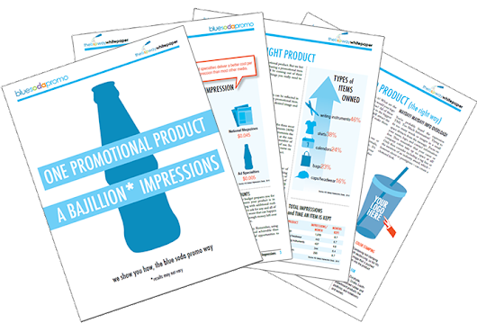 Guide to Buying the Perfect Promotional Product | FREE eBook - Blue Soda Promo Blog
