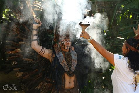 Mayan Wedding Cenote Ceremony at Tulum Mexico EcoPark