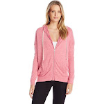 Alternative - Ladies' Cool Down Eco-Jersey Zip Hoodie-ECO Summer BERRY-XL