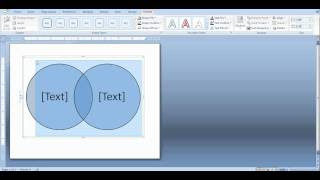 How To Create A Venn Diagram In Word And Powerpoint