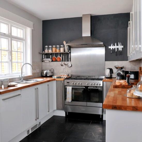 Slate kitchen floor tiles | Kitchen flooring ideas ...