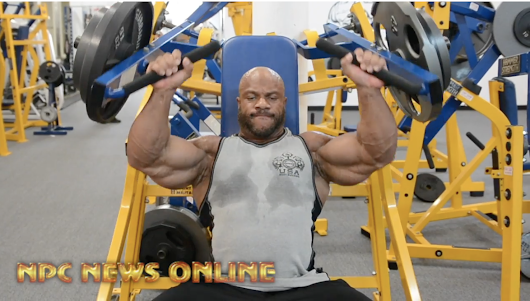 7x Time Mr.Olympia Phil Heath Shoulder Workout Video 27 Days Out From The 2018 Mr.Olympia | NPC News Online