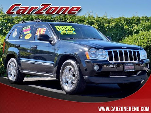 Used 2006 Jeep Grand Cherokee Limited 4WD for Sale in Reno NV 89502 CarZone