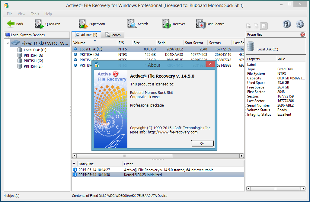 Active File Recovery 14.5.0.1 crack