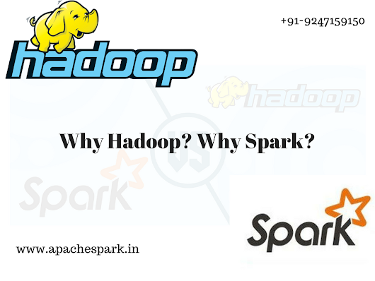 What is hadoop & What is power of Spark?