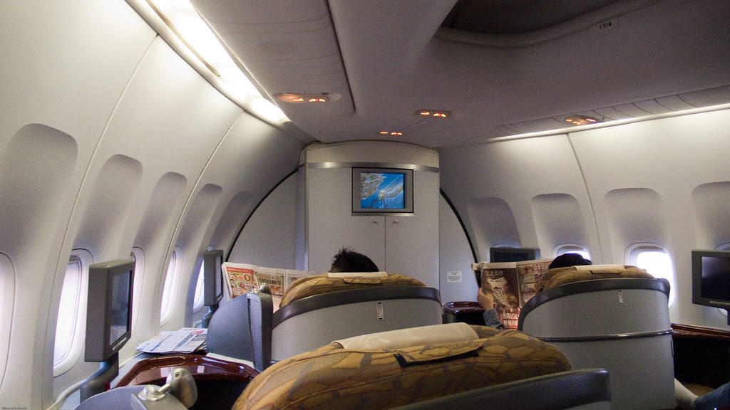 First Class On China Airlines Tpe Lax Michael Rehfeldt