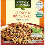 Seeds of Change Organic Quinoa & Brown Rice with Garlic, 3.2 lbs
