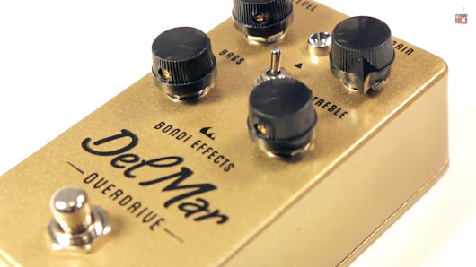 Bondi Del Mar Overdrive Pedal Review
