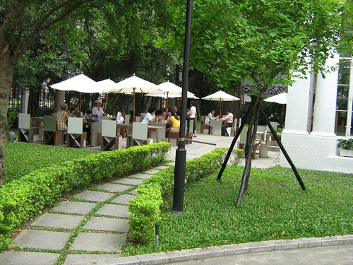 Cafe Lumiere at the Taipei Film House