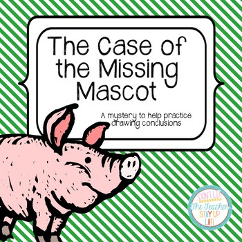 The Case of the Missing Mascot - a FREE activity for drawi