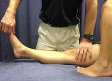 Recurvatum Test Demonstration - El Paso Chiropractor