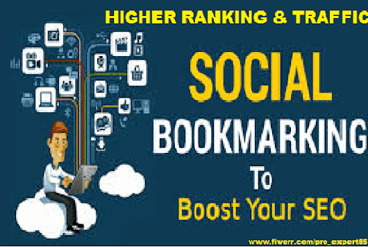 I will add your site to SEO social bookmarks high quality backlinks