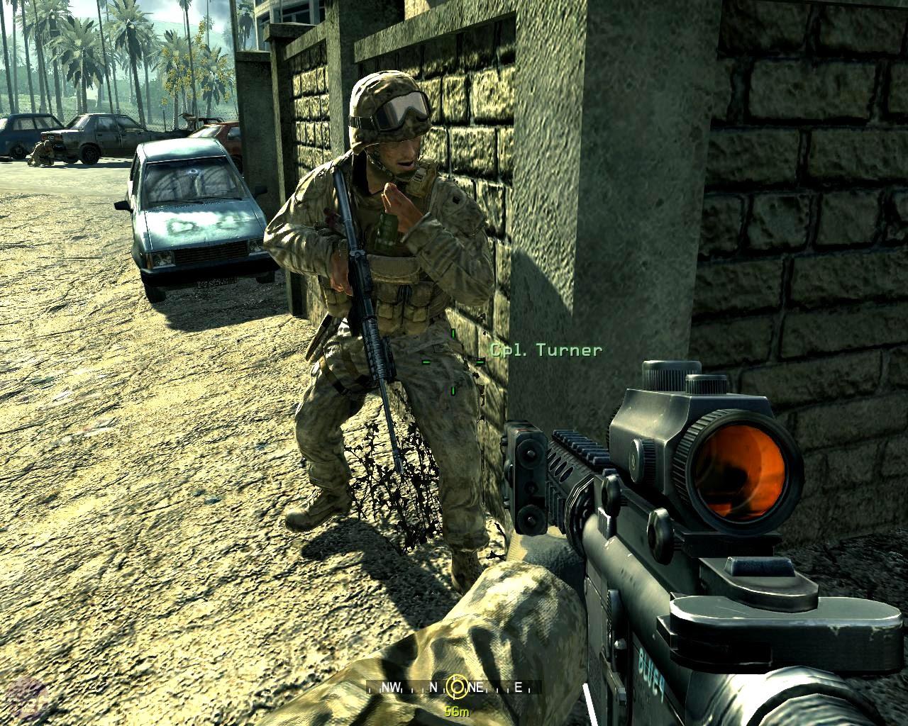Call Of Duty 4 Modern Warfare Wallpaper 1280x1024 67326