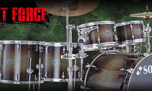 Sonor Select Force Drumset + Meinl Beckensatz