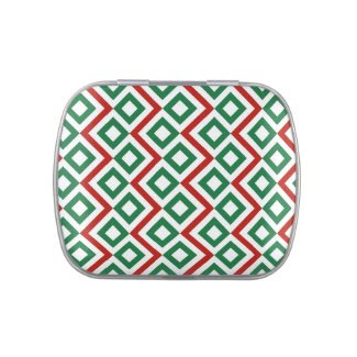 Christmas Meander Jelly Belly Candy Tin