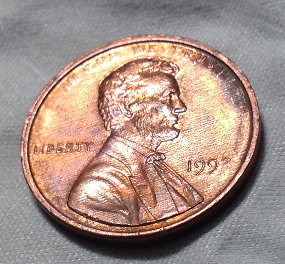 1993 - D Lincoln 1 C Penny - photo update | Collectors Weekly