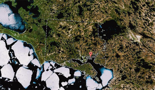 Google mapping out Canada's  Nunavut territory with local community, Street View trike
