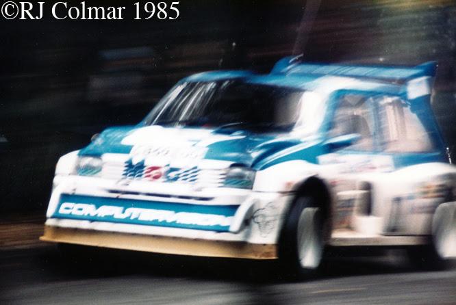 MG Metro 6R4, RAC Rally