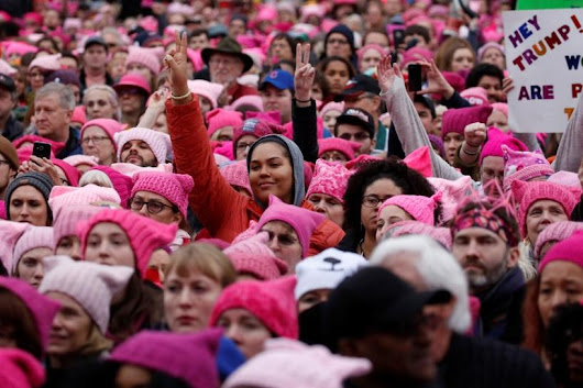 Women stage massive anti-Trump protests across U.S