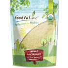 Organic Almond Flour, 0.5 Pound - by Food to Live