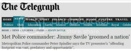 Telegraph on Savile: click to read more