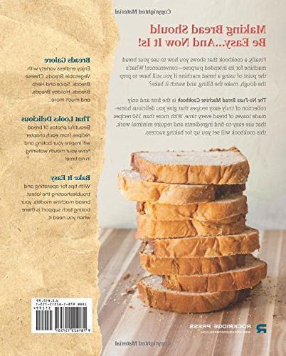 The No-fuss Bread Machine Cookbook: Hands-off Recipes For