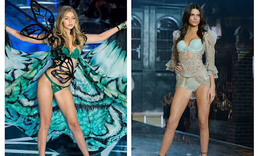 Kendall Jenner and Gigi Hadid Slayed the Victoria's Secret Fashion Show