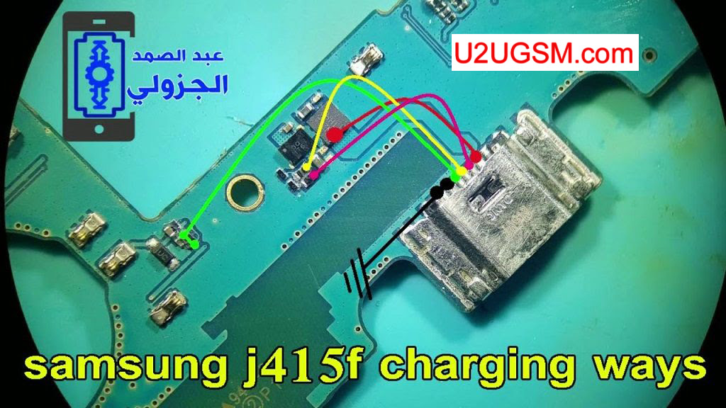Samsung Galaxy J4+ Plus J415F Usb Charging Problem Solution Jumper Ways