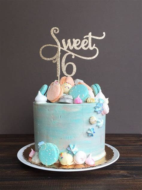 25  best ideas about Sweet 16 cakes on Pinterest   16 cake
