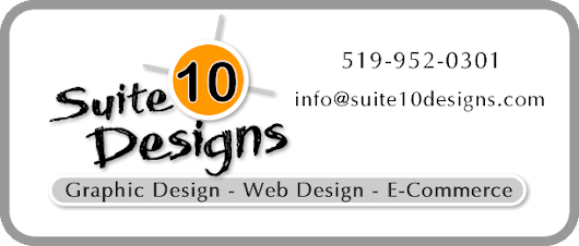Home of Suite 10 Designs - Web Design and Graphic Design Services