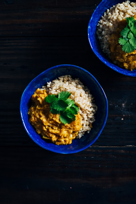 Red Lentil Kitchari | An Ayurvedic Cleanse | Well and Full