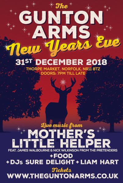 The Gunton Arms New Years Eve Party 2018 The Gunton Arms