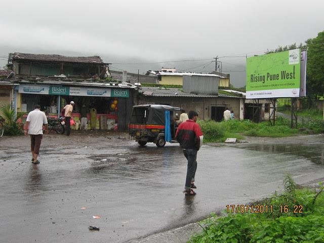 Super Market at Urawade Naka on Temghar Lavasa Road! Visit to Mont Vert Vesta Urawade Pirangut Pune 412 108