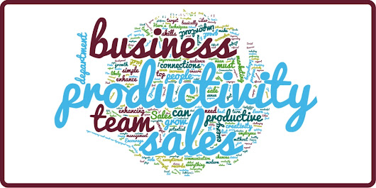 Improve productivity to grow your business sales