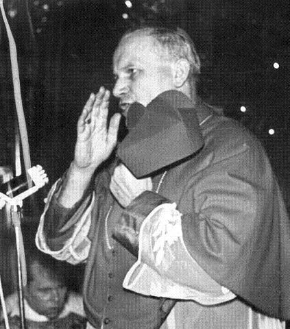 Cracovia 1967, poco antes de ser nombrado cardenal
