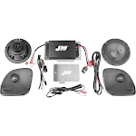 J&M PSXK-200SP2-15RG Performance Series 200W Audio/Install Kit