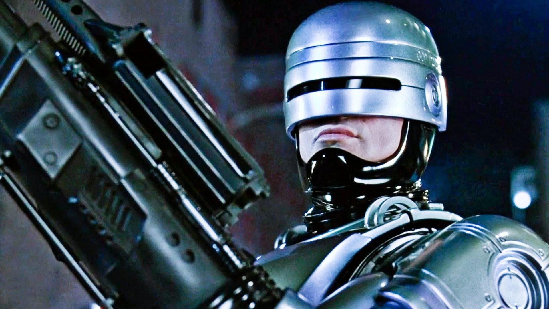A still from Robocop